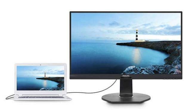 "МОНИТОР 27"" PHILIPS 272B7QUPBEB/00 Black с поворотом экрана (IPS, 2560x1440, 5 ms, 178°/178°, 350 cd/m, 50M:1, +HDMI 1.4, +DisplayPort 1.2, +DisplayPort, +3xUSB 3.1, +USB-Type C, +RJ45, +MM)"