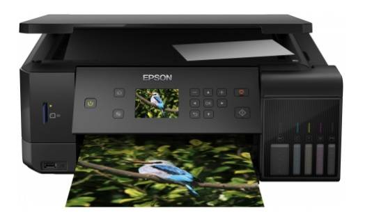 Фабрика Печати Epson L7160, А4, 5 цв., копир/принтер/сканер, Duplex, Ethernet, USB, WiFi