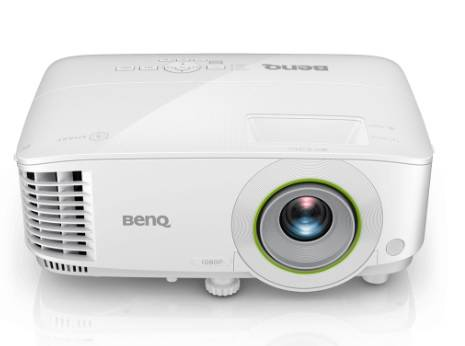 Проектор BENQ EH600 (DLP, 1080p 1920x1080, 3500Lm, 10000:1, +НDMI, +USB, 1x2W speaker, 3D Ready, lamp 15000hrs, Android 6.0, WHITE, 2.50kg)