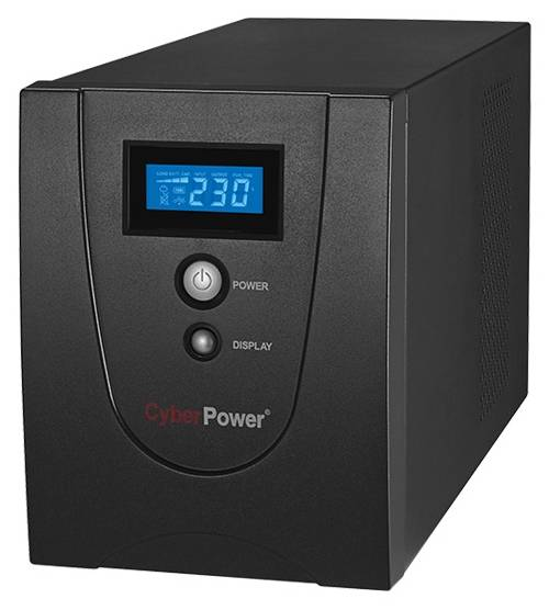 CyberPower ИБП Line-Interactive VALUE1500ELCD 1500VA/900W USB/RS-232/RJ11/45 (4 EURO)